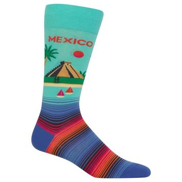 Men's Mexico Crew Socks