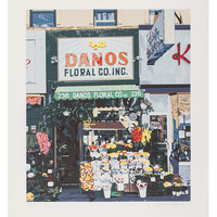 Untitled (Danos Floral Co. Storefront) by Charles Ford (Silkscreen)