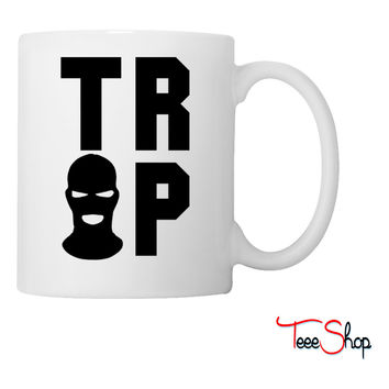 Trap House mask Coffee & Tea Mug
