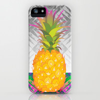 Pineapple iPhone & iPod Case by Ornaart