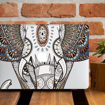 timeless design 659b7 5e52b Elephant Macbook Hard Case MacBook Air 11 from CreativeMacBookCas