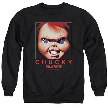 Childs Play - Chucky Squared Adult Crewneck Sweatshirt