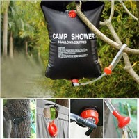 Hot Sale 20L 5 Gallons Portable Solar Heated Camp Hiking PVC Heat Shower Bag Outdoor