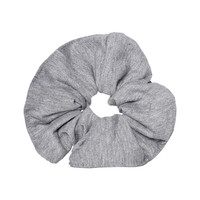 Heather Grey Srunchie