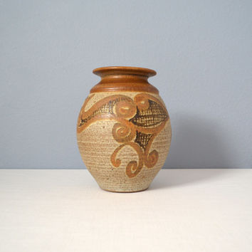 Vintage Wishon Harrell Large California Studio Art Pottery Vase