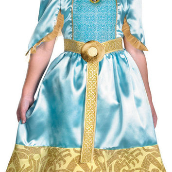girl's costume: brave merida classic | medium