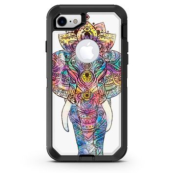 Bright Watercolor Ethnic Elephant - iPhone 7 or 8 OtterBox Case & Skin Kits