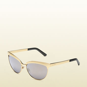 Gucci - gold endura cat-eye sunglasses 337932I33307043