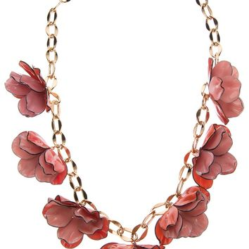 Tory Burch Floral Necklace