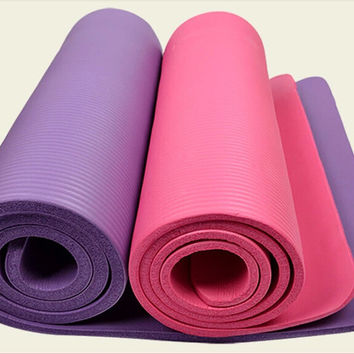 Multi-color Anti-skid Body Shaper Gym Yoga Mat 10mm Thick  [6580522183]