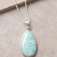 Larimar Pendant Necklace - One Of A Kind
