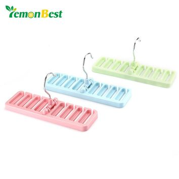 LemonBest Storage Rack Tie Belt Organizer Space Saver Rotating Scarf Ties Hanger Holder Hook Closet Organization Tank Bra Belts
