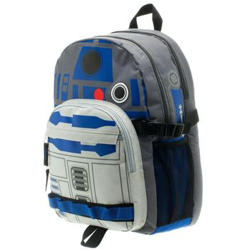 MPBP Star Wars R2D2 Backpack Star Wars Accessory Star Wars Bag - Star Wars Backpack Star Wars Gift