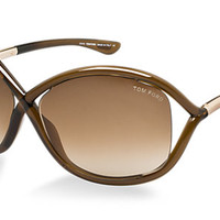 Check out Tom Ford FT009 WHITNEY sunglasses from Sunglass Hut http://www.sunglasshut.com/us/664689371143