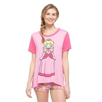 Women's Princess Peach PJ Set