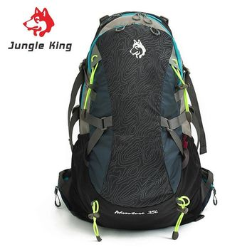 Jungle King New hot outdoor camping gear menand women shoulders knapsack 35L large capacity backpack outdoor on foot movement