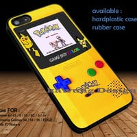 Gameboy Color Pokemon Edition DOP144 iPhone 6s 6 6s+ 5c 5s Cases Samsung Galaxy s5 s6 Edge+ NOTE 5 4 3 #cartoon #animated #Pokemon