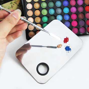 Stainless Mixing Palette Spatula Cosmetic Tool
