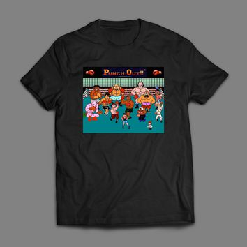 MIKE TYSON'S PUNCH OUT CHARACTERS T-SHIRT