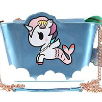 Tokidoki California Dreamin' Mermicorno Crossbody Bag Purse