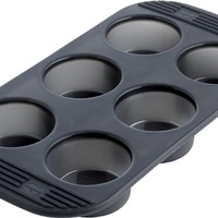 Silicone Muffin Pan 6 Cup