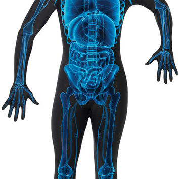 costume morphsuit: x ray skin suit | large