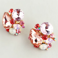 Pink Lovers Clusters Earrings