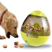 Smarter Dogs Food Feeding Balls Treat Dispenser For Dogs Cats Playing Training