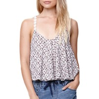 LA Hearts Trim Double Strap Swing Cami - Womens Shirts