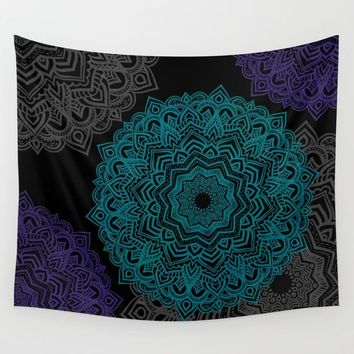 My Spirit Mandhala | Secret Geometry Wall Tapestry by Azima
