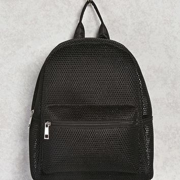 Semi-Sheer Mesh Backpack