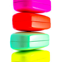 Sunglasses Neon Hard Storage Case