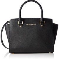 Michael Kors Women's Selma Medium Top Zip Satchel  Michael Kors bag