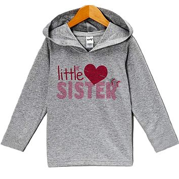 Custom Party Shop Baby's Little Sister Valentine's Day Hoodie
