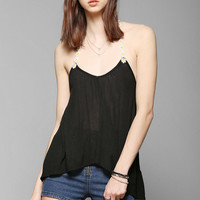 Pins And Needles Daisy Chain Racerback Tank Top - Urban Outfitters