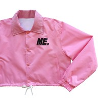 ME Women's Liberation Coaches Jacket - Pink