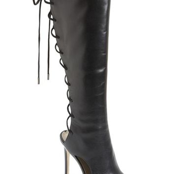 Women's Via Spiga 'Teriza' Back Lace Tall Boot,