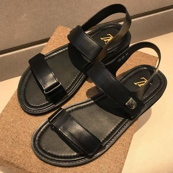 Louis Vuitton Fashion Casual Sandals Shoes