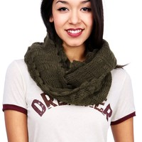 Scalloped Infinity Scarf