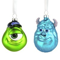 2-Piece Sulley & Mike Ornament Set