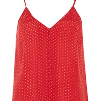 Pinspot Button Camisole | Topshop