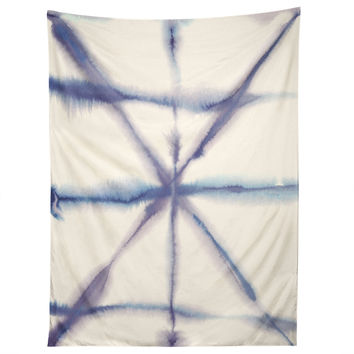 Jacqueline Maldonado Light Dye Folding Blues Tapestry