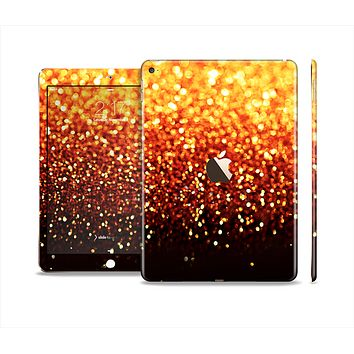 The Faded Gold Glimmer Skin Set for the Apple iPad Air 2