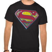 Superman Printed Logo Tee Shirt