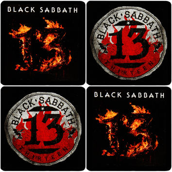 Black Sabbath Coaster Set