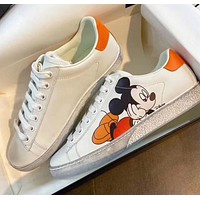 Gucci Mickey Mouse casual shoes
