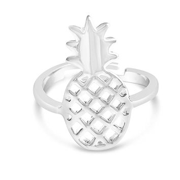 Rosa Vila Pineapple Ring - Hawaii Pineapple Inspired Fruit Ring with Adjustable Size