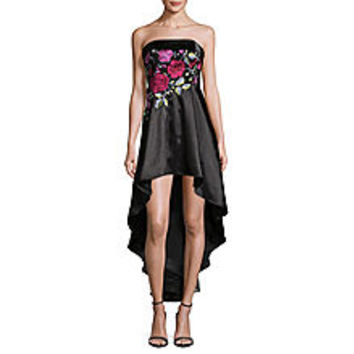 Social Code Sleeveless Embroidered Evening Gown Juniors JCPenney