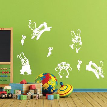 Rabbit Band Wall Decal