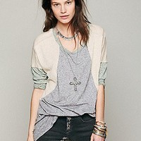 Free People  Colorblock Sleepy Tee at Free People Clothing Boutique